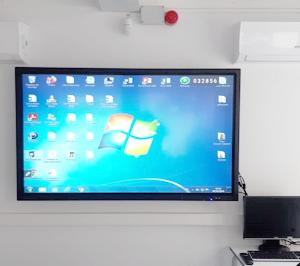 Instalación Monitor Escolar Interactivo Clevertouch