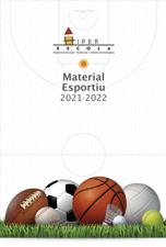 Catàleg Material Esportiu Centres Escolars