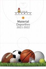 Catálogo Material Deportivo Educación Hiper Escola 20/21