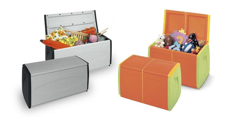 Baguls per ordenar joguines