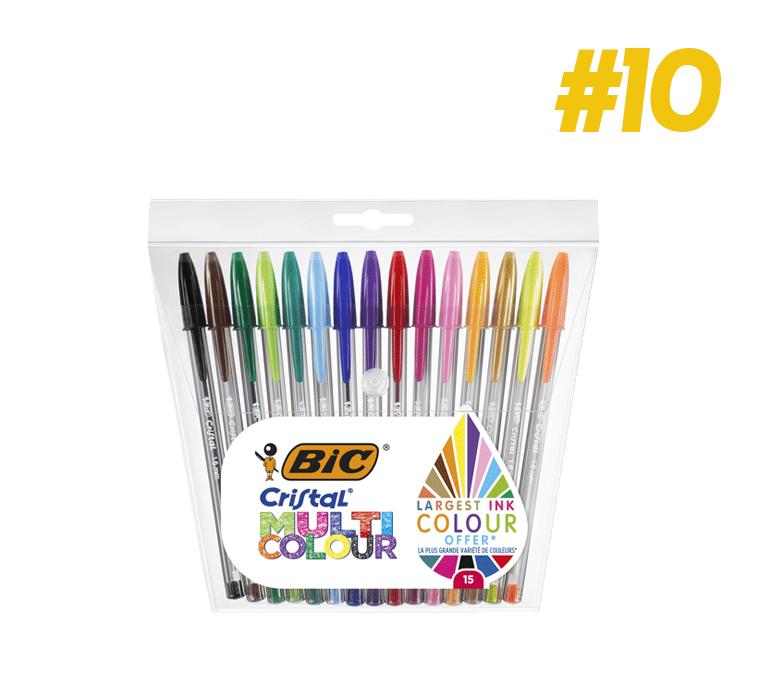 Bolígraf Bic Cristal Multi Color