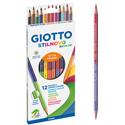 Llapis de Colors Giotto StilNovo Duo