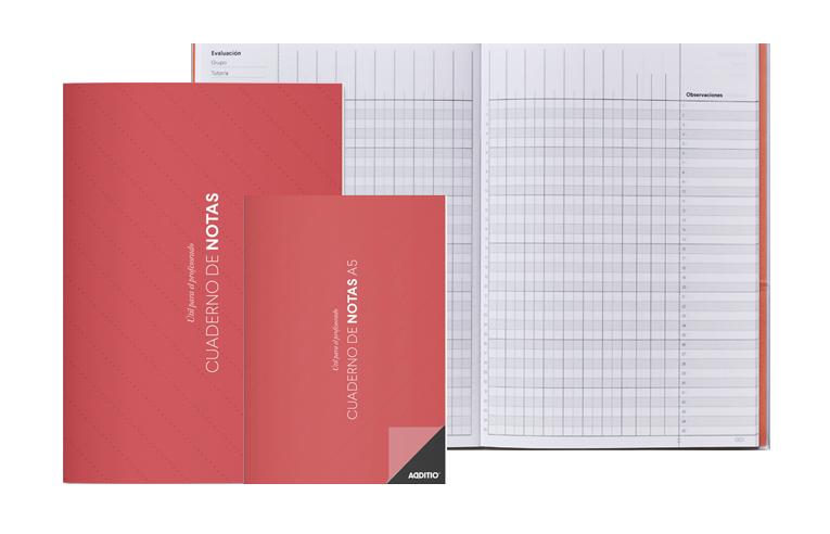 Quadern de notes Additio per docents