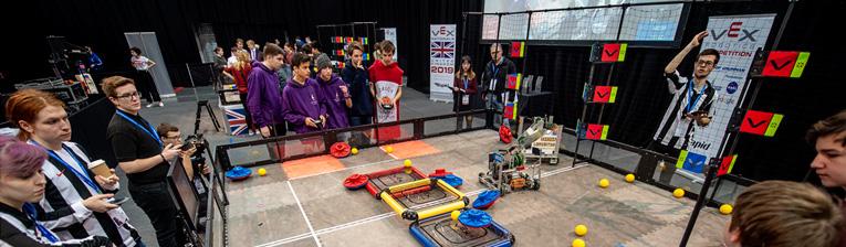 Competició Robòtica VEX World
