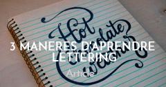 Aprendre Lettering