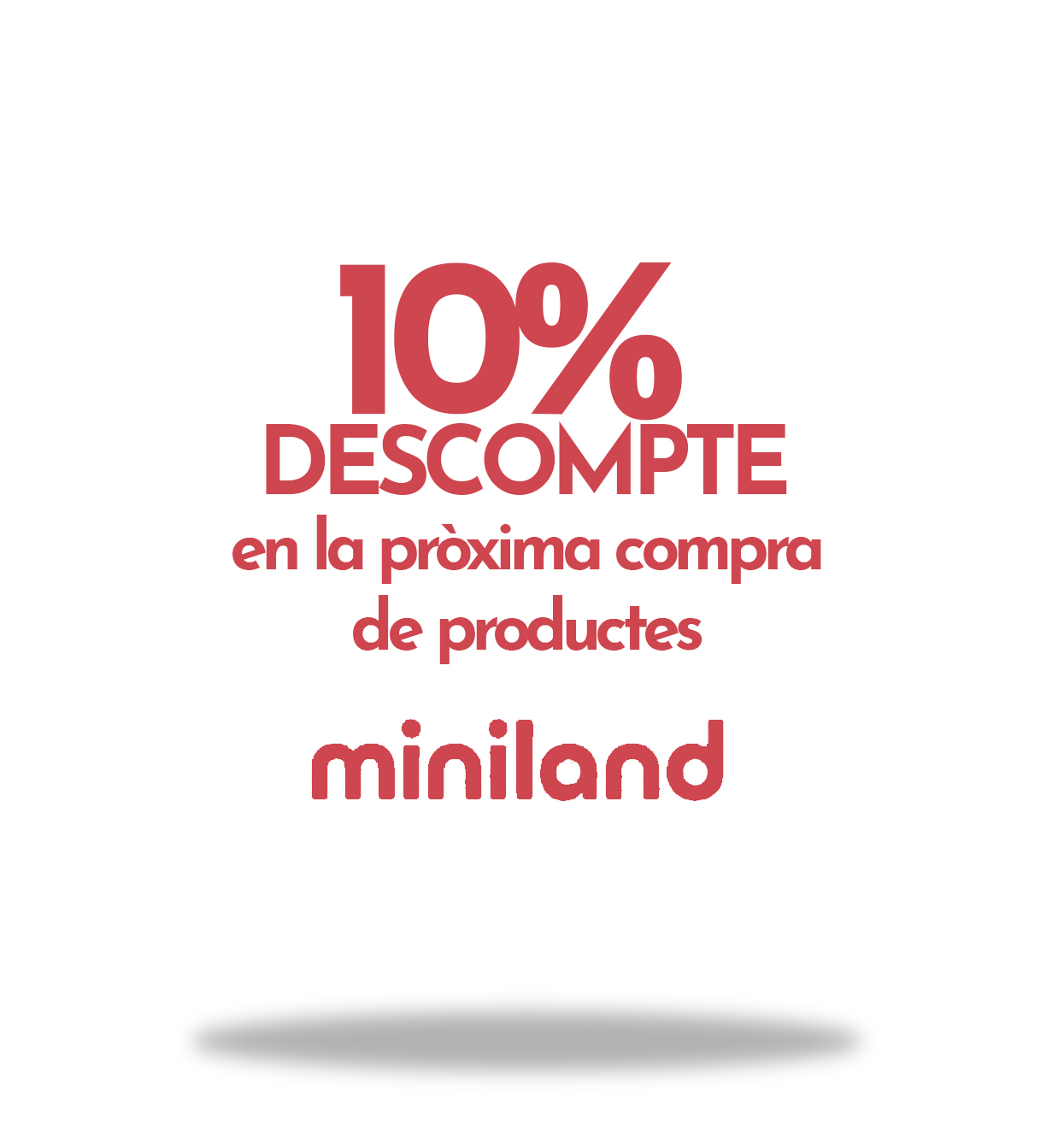 10% Descompte en Jocs Miniland