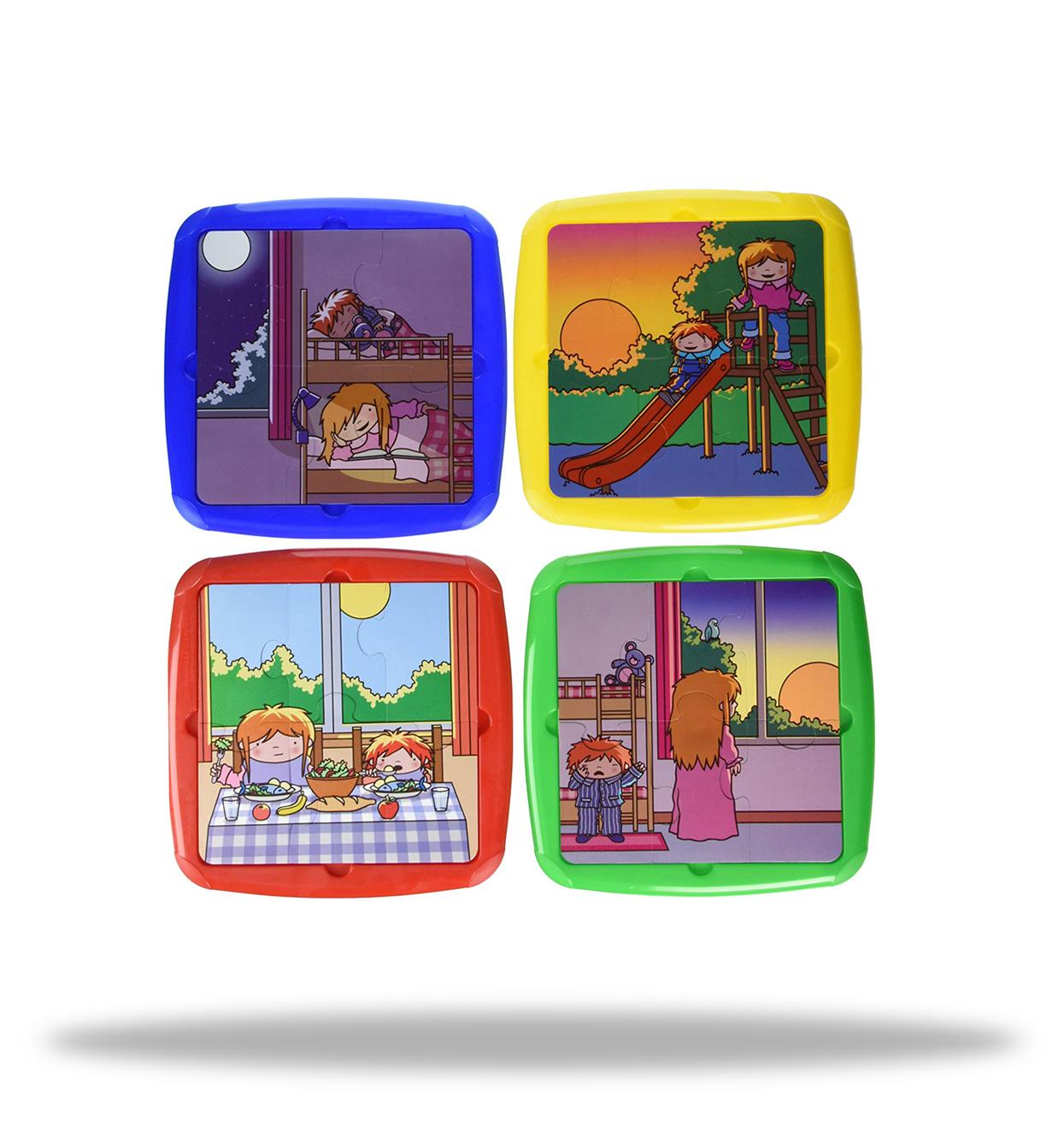 Puzzle fases del dia - Miniland