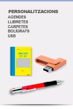 Agendes Bolis USB Personalitzats - Catàlegs