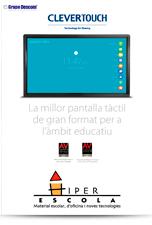 Catlálogo Monitor Táctil Clevertouch Escuelas Hiper Escola