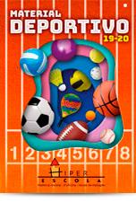 Catálogo Material Deportivo Educación Hiper Escola 19/20