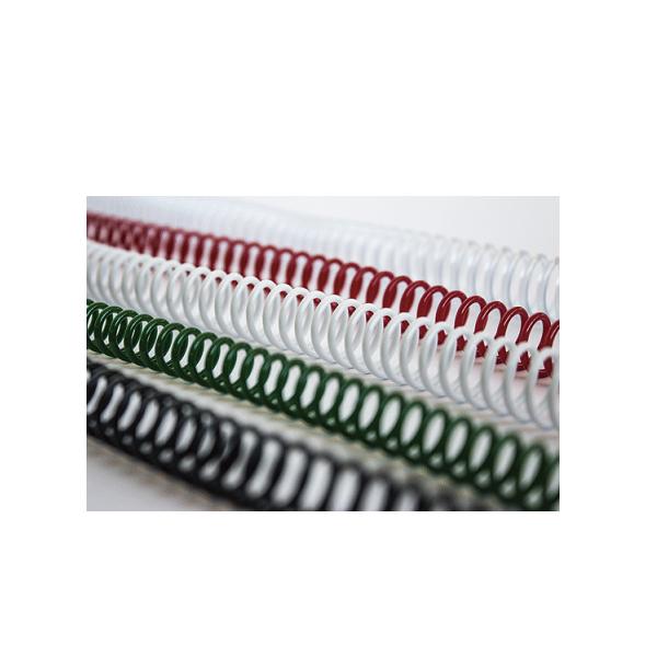 Espirals de Plàstic de Colors per Enquadernar