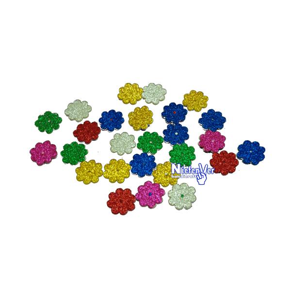Figures Goma Eva Purpurina - Flors Petites