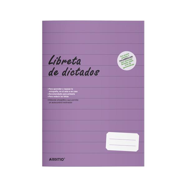 Quadern Llibreta de dictats Additio