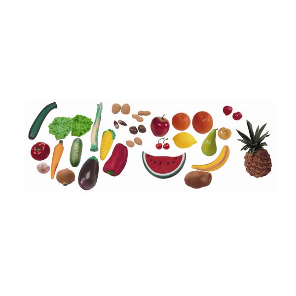 Assortiment fruites, hortalisses i fruits secs 36 peces