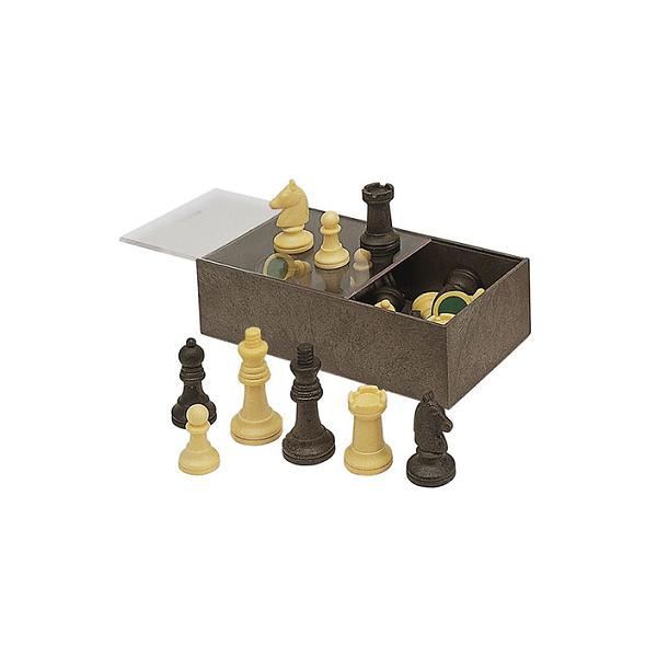 Accesoris escacs caixa de plàstic